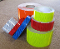 v98 fluorescent lime orange blue white red reflective tape